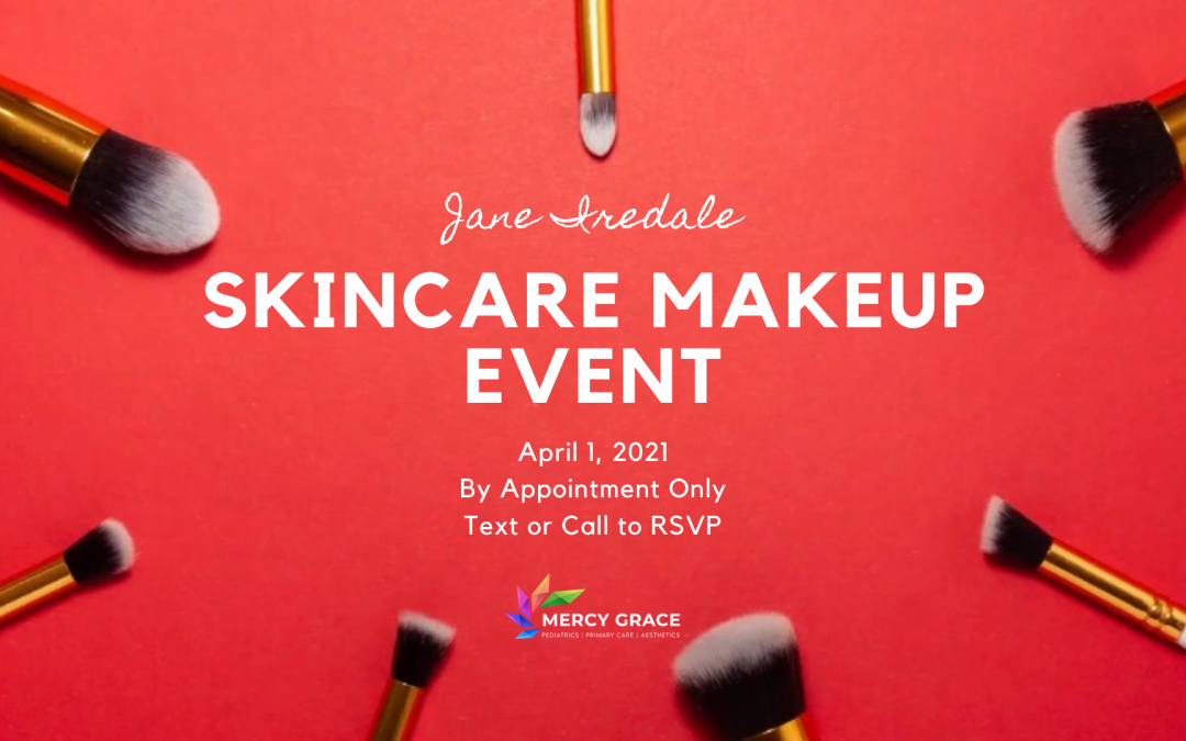 jane iredale event at mercy grace